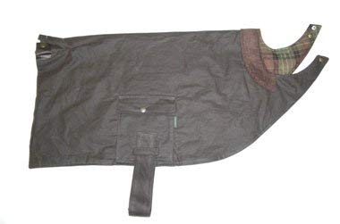 Hunter-Outdoor Manteau pour chien en coton ciré marron