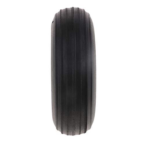 B Blesiya Ruedas de Plástico para RC Avión Partes (Varios Tamaños para Selección) - 127 mm (cantidad de 1 Pieza)