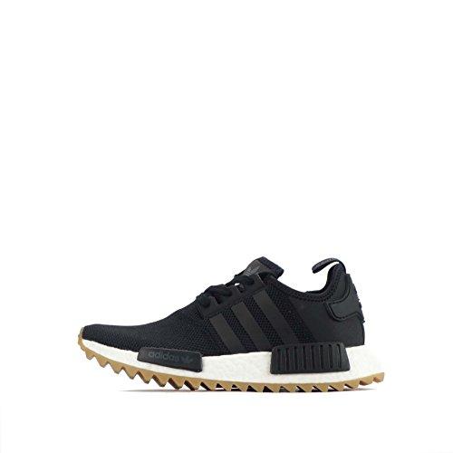 adidas Originals NMD_R1 Trail W Unisex Laufschuhe - Schwarz Weiß S81046, EUR 41
