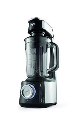 Beko TBV8104BX - Licuadora (1,5 L, 22000 RPM, Continuo, Botones, Giratorio, 1,5 L, Batidora de vaso)