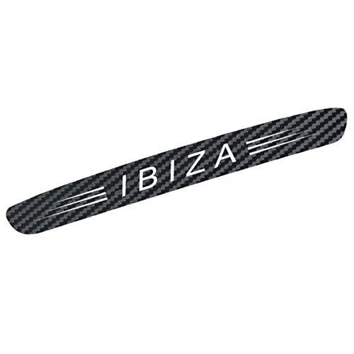 Adatech Seat Ibiza Vinyl Aufkebler fur 3rd Bremsleuchte Carbon Fiber Vinyl Auto Nom-Log