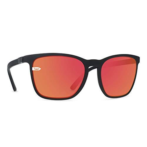 gloryfy unbreakable eyewear Gloryfy - Gafas de sol unisex irrompibles (Gi26 Kingston Red), color rojo y negro