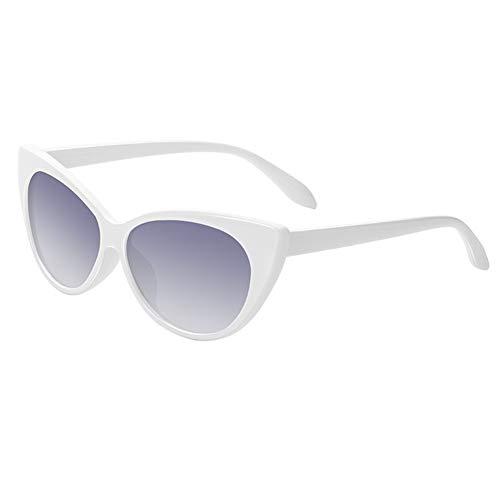Sexy Ladies Cat Eye Sunglasses Mujeres Gradiente Gafas Retro Cateye Gafas De Sol Mujer Eyewear UV400 210103 (Lenses Color : C3)