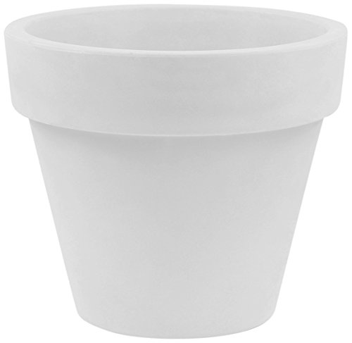 Vondom Pots Maceta, Blanco, 59.8x59.8x51.8 cm