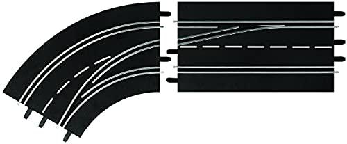 Carrera Digital 132 / Carrera Digital 124 - 30363 - Changement de voie et dépassement numériques (à gauche, de l'extérieur vers l'intérieur), pour les + de 8 ans - échelle 1:24