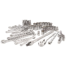 CRAFTSMAN 66-Piece Standard (SAE) and Metric Polished Chrome Mechanic's Tool Set at Lowes.com