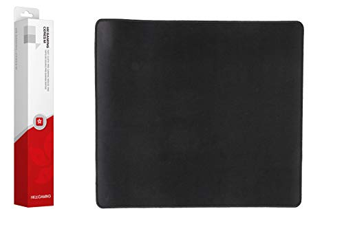 HK Gaming Ceres Fast Cloth Gaming Mousepad with Sitched Edges (Black, M | 450x400mm |17.7x15.7 in)