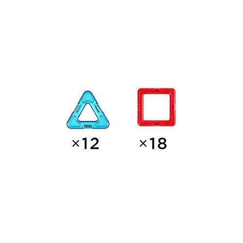 ボーネルンドマグ・フォーマー(MAGFORMERS)ベーシックセット[30ピース]【日本語あそび方冊子付】3歳頃MF701005J