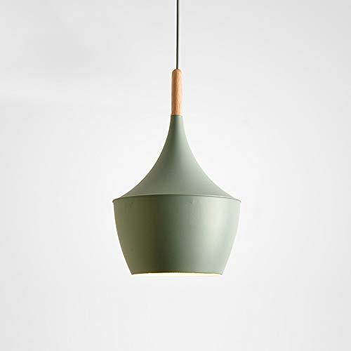 Lampadario in legno massello nordico, illuminazione moderna per bambini in alluminio a LED lampada a sospensione decorativi lampadari a soffitto Tavolo da pranzo in cartone animato luce pendente