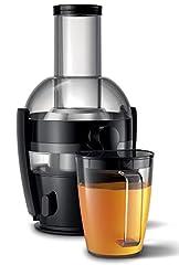 Philips Déserreurs HR1856/70 (800 W, capacité de 2 litres, technologie QuickClean, réservoir de jus inclus)