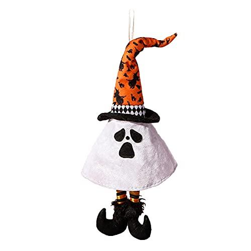 SLJXY Hallow Ghost Colgante Colgante de Casa Haunted Horror Decoración, Accesorios de Halloween Decoración de casa spuk Decoración Noche de terror