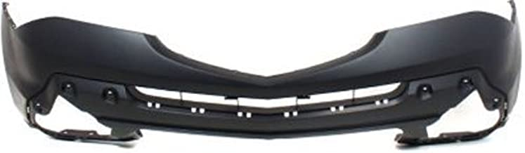 CPP Primed Front Bumper Cover Replacement for 2007-2009 Acura MDX