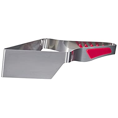 Love Cooking Stainless Steel Slice N Easy Cake Cutter, Red
