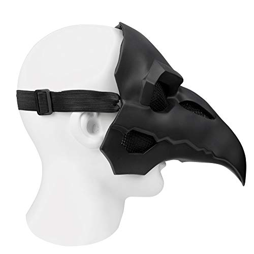 DMAR Plague Doctor Mask Gothic Cosplay Retro Steampunk Props Halloween Medieval Costume Props Retro Crow Bird Mask steampunk buy now online