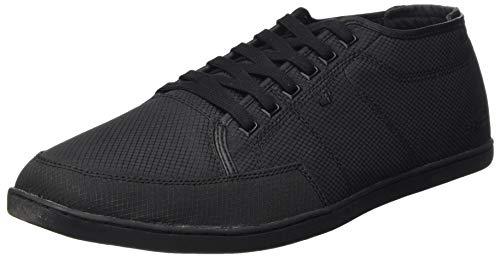 Boxfresh Herren Sparko Sneaker, Schwarz (Schwarz), 43 EU