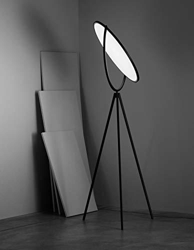 Flos Superloon F6630030 Jasper Morrison Lampe de sol 45 W Noir variateur 4000 lm