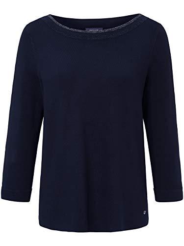 BASLER Damen Pullover mit U-Boot-Ausschnitt und ¾-Ärmeln