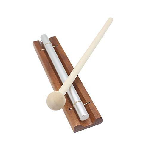 Campanas de viento de un solo tono con mazo Sonido