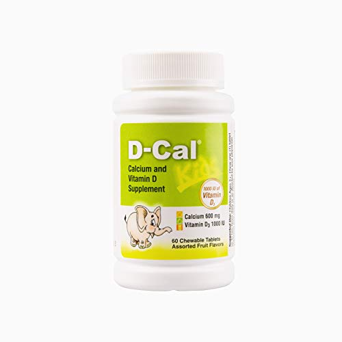 D-Cal® Kids 600 Calcium and Vitamin D Dietary Supplement