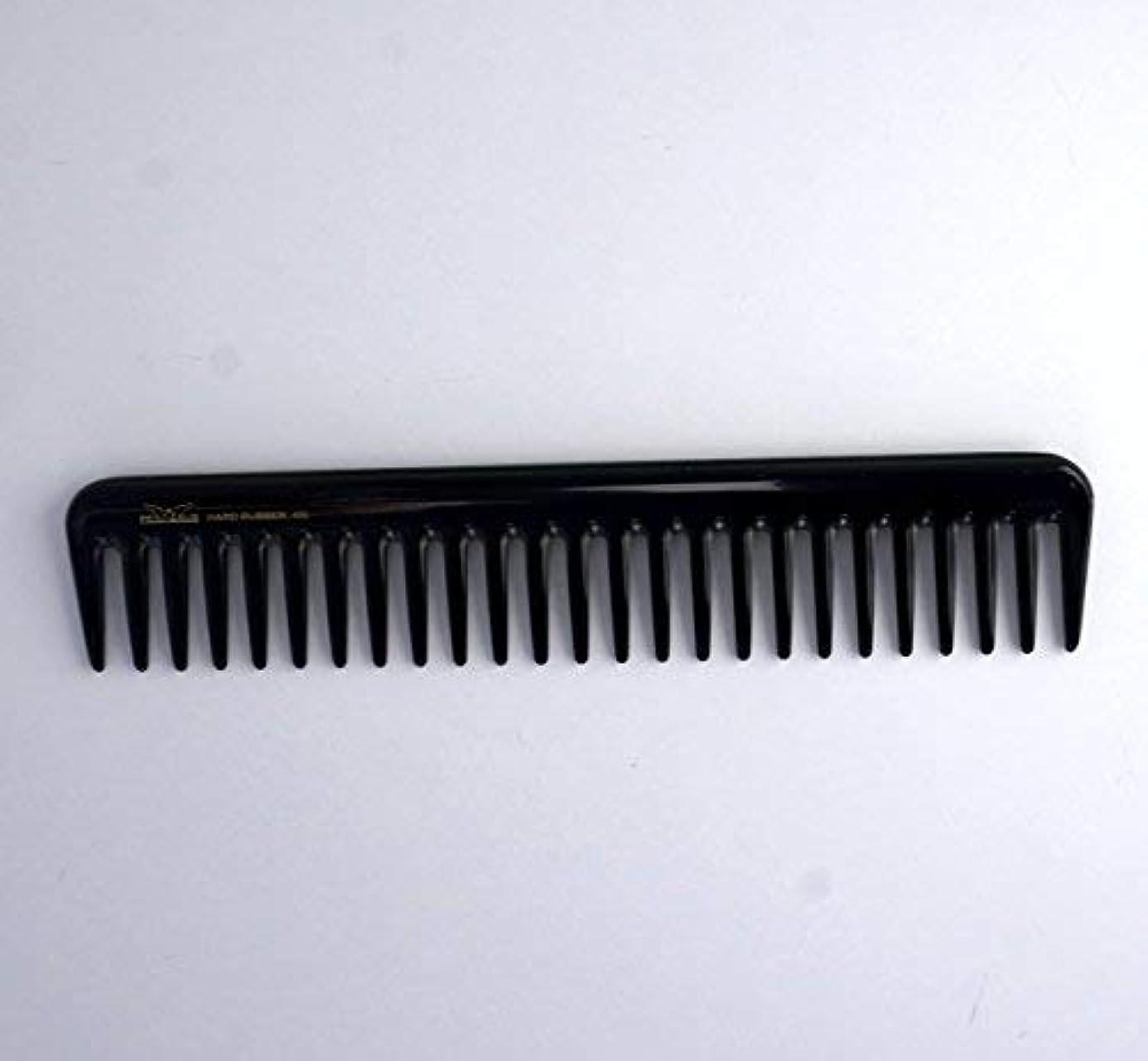 コミュニケーション禁止する放置7in, Hard Rubber, Wide Tooth Short Styling Comb [並行輸入品]