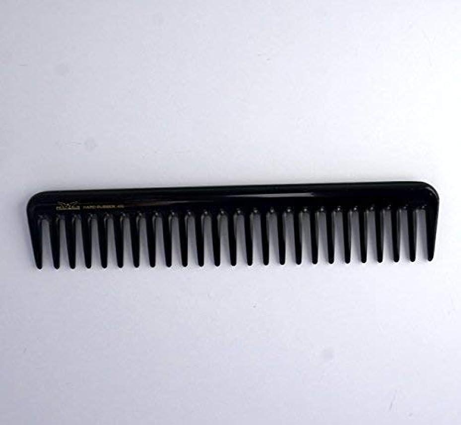 症候群政治家の復活する7in, Hard Rubber, Wide Tooth Short Styling Comb [並行輸入品]