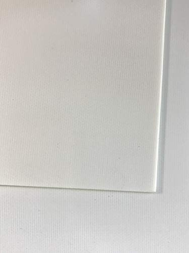0,5 mm in fibra di vetro blaha FR4 pannello dimensioni ca, 520 x 250 mm vetro duro tessuto bianco