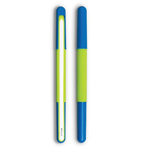 Sheep Wand Ergonomic Protective Silicone Case for Apple Pencil 2nd Generation with Polycarbonate Cover and Two Tone Design (Earth)