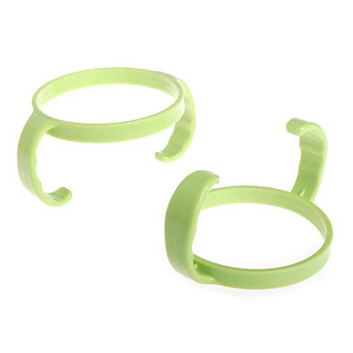 XTYaa 2 soportes de plástico para biberón de alimentación de bebé, fácil agarre, para Comotomo