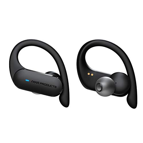noot products NP30T True Wireless Earbuds Bluetooth Headphones 5.0 in-Ear Buds with Noise Isolation, Microphone, Volume/Remote Control for Running Workout