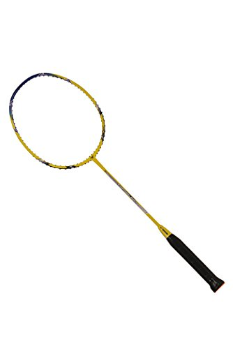 VICTOR Arrow Power 7000-S G5 Strung Badminton Racket String Tension Upto 35lbs (Blue/Yellow) (3U)