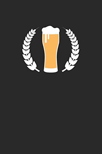 Bier Tasting Buch: Dein persönliches Verkostungsbuch zum selber ausfüllen ♦ für über 100 verschiedene Bier Sorten, Craft Beer, Pils, Pale Ale oder IPA ... 6x9 Format ♦ Motiv: Weizenbier