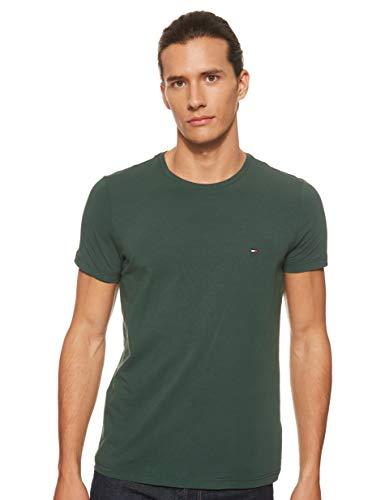 Tommy Hilfiger Herren T-Shirt Hemd, Pine Grove, XL