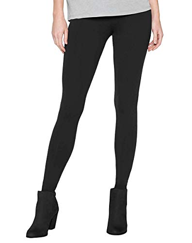 Matty M Women's Wear Everywhere Legging (Black, Large)