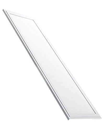 Panel LED Slim 120x30cm, 48w. Color Blanco Neutro (4500K). 4400 lumenes. Driver Incluido. A++