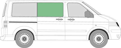 T5 & T6 Transporter feste Seitenfenster Sichtschutzglas dunkel getönt rechts