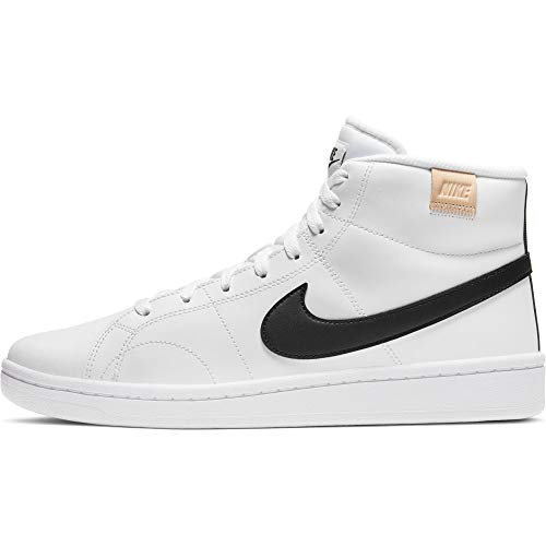 Nike Court Royale 2 Mid, Zapatos de Tenis Hombre, White Black White Onyx, 44 EU