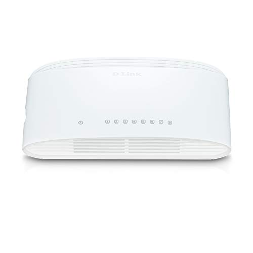 D-Link DGS-1008D - Switch de Red con 8...