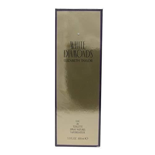 White Diamonds by Elizabeth Taylor for Women 3.3 oz Eau de Toilette Spray by Elizabeth Taylor