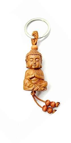 Publisit Porte-Clés Original, Bouddha, Zen Dieu Hindou, Porte Bonheur, Namaste (sans Prénom)