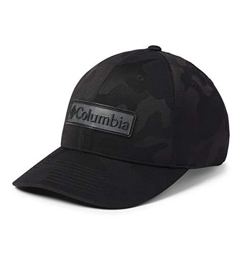 Sombrero Columbia Trail Essential con cierre a presión, mezcla de algodón, protección solar para hombre