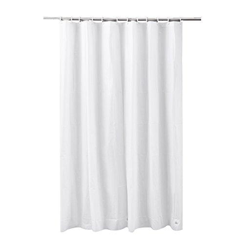 FRANDIS Duschvorhang, Polyester, 180x200 cm weiß
