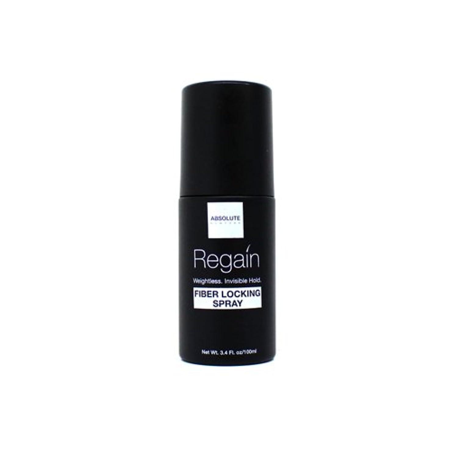 ロゴ札入れ橋(6 Pack) Absolute Hair Fiber Locking Hair Spray (並行輸入品)