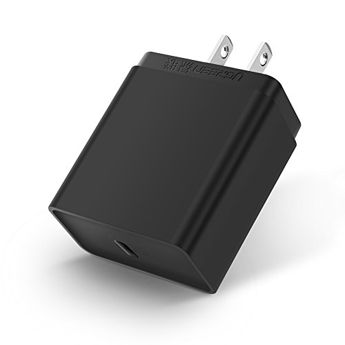 UGREEN 30W USB C Wall Charger PD 2.0 Type C Quick Charger Compatible for MacBook Pro iPad Pro 2018, iPhone 11 Pro Max XR Xs X 8 Plus, Samsung S10 S9 Note 9, Pixel 2 XL, Nintendo Switch