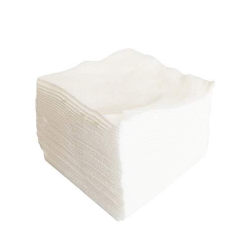STOBOK 300pcs Make Up Entferner Pads Einweg Reinigungstücher Vliesstoff Pflegetücher Vliestücher Putztuch Tragbar Reinigungstücher Kosmetik Zuhause Reinigung Salon