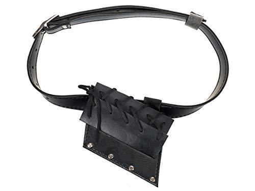 CoolChange Schwertgürtel aus PU Leder Schwerthalter mit Gürtel für Katana, Schwert, Schwertgehänge