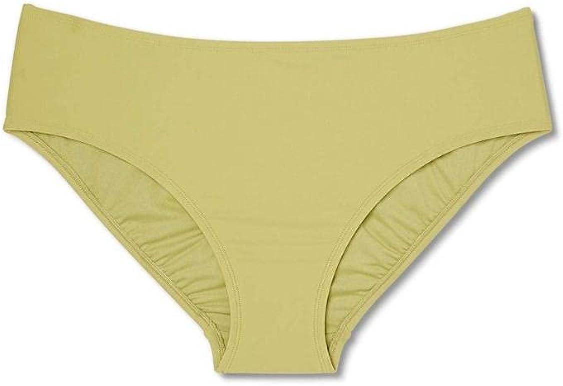 Xhilaration Juniors' Plus Size Hipster Bikini Bottom (Olive Green, 16W/18W)