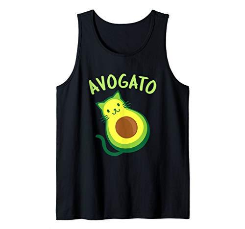 Avogato Cat Avocado - Funny Cinco de Mayo Tank Top