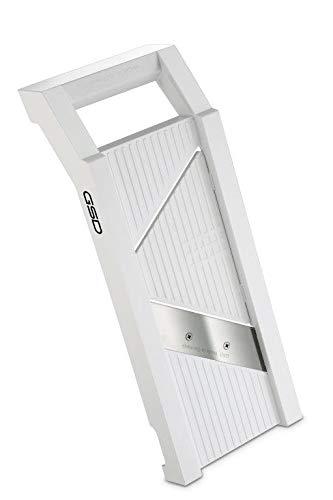 G S D Haushaltsgeräte G S D Universal 30002 mit 2 Einsätzen in weiß Gemüsehobel, Kunststoff