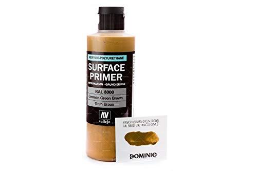 Vallejo 074606 - Pintura (200 ml), Color Verde y marrón