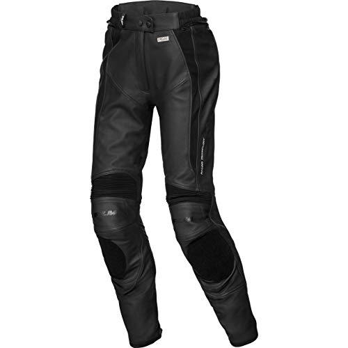 FLM Kombihose Lederkombi Motorradhose mit Protektoren Sports Damen Lederkombihose 2.1 schwarz 34, Sportler, Ganzjährig